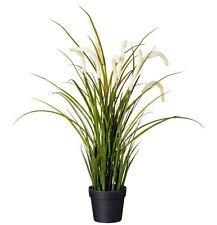 IKEA FEJKA artificial potted plant, tall grass 52cm
