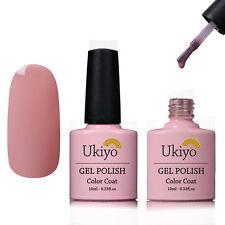 Ukiyo 10ml Soak Off UV Gel Nail Polish UV LED Gelpolish No Wipe Top Base Coat