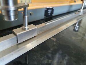 Precision Machinist Straight Edge KL 1000 (standard measure of length) USSR