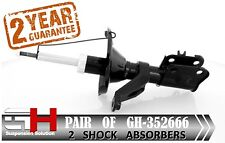 2 NEW FRONT GAS SHOCK ABSORBERS FOR HONDA CIVIC 01.2001-12.2005 /GH 352666/