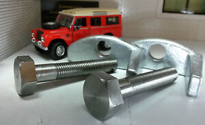 Land Rover Series 2 2a 3 Bonnet Spare Wheel Stainless Bolt Galvanised Clamp Set