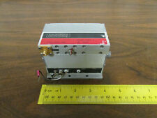 California Microwave PE84P-129(-) Oscillator Adjustable Set At 8375 MHz RF SMA