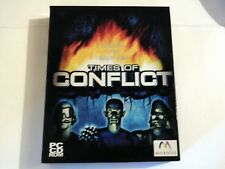 PC TIMES OF CONFLICT (WIN 95/98/2000 - CD-Rom) Strategy Microids 2000 11+ NEW &