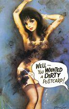 POSTCARD  COMIC   BAMFORTH  No 2265  Girl  Panties