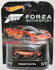 HOT WHEELS 2017 RETRO ENTERTAINMENT FORZA MOTORSPORT PAGANI HUAYRA #5/5