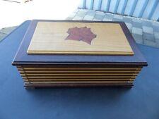 Großer Humidor für 60 - 100 Zigarren oder als Aufbewahrungsbox mit Spiegel