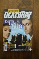 DEATHRAY Magazine August 2007 Doctor Who cover