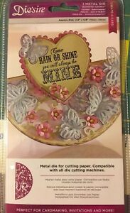 Die'sire 'Create-a-Card' Butterfly Garden by Crafter's Companion FREE SHIP