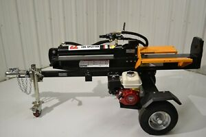 22-Ton Log Wood Splitter Towable Horizontal Vertical GX160 Honda Gas Engine