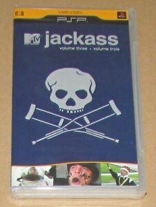 Jackass: Vol. 3 (Sony PSP UMD Video) Brand New / Fast Shipping