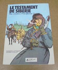 FOLLET - YVAN ZOURINE - 2 - TESTAMENT DE SIBERIE + SIGNATURE - EO 1979 ( TBE )