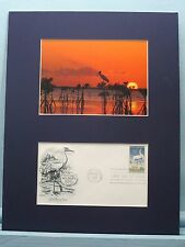 Everglades National Park in Florida & First Day Cover for Wildlife Conservation