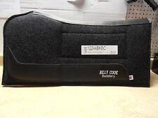 """Billy Cook Black Felt Build Up Shoulder Relief Contoured Horse Saddle Pad 32x32"""""""
