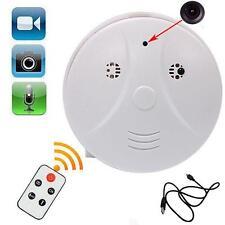 Smoke Detector Cam Hidden Surveillance Security Spy Camera/Recorder DVR Remot 0T