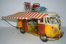 Clayre Eef Blechauto Bulli Bus T1 Retro Vintage Modellauto Nostalgie