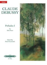 DEBUSSY - Preludes Book 1 Urtext Peters Edition Piano Book *NEW* Sheet Music