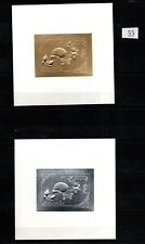 / MONGOLIA 1993 - MNH - GOLD+SILVER - BUTTERFLY, CATS, TURTLE, MINERALS