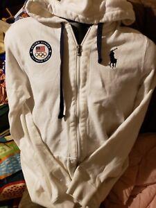 Mens Large Polo Ralph Lauren USA Olympic Team LONDON 2012 Hoodie sweatshirt