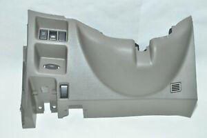 09-13 INFINITI G37 DRIVER SIDE LOWER DASH INSTRUMENT PANEL FINISHER VDC OFF OEM