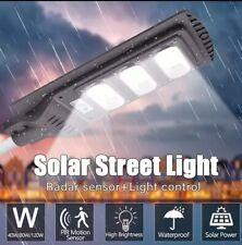120W Solar Street Light Motion Sensor LED Light Control Outdoor Garden Wall Lamp
