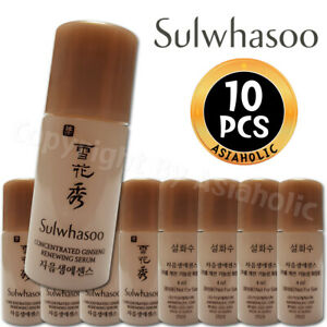 Sulwhasoo Concentrated Ginseng Renewing Serum 4ml x 10pcs (40ml) Sample Newist