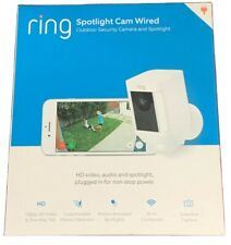 New Ring Spotlight Cam Wired