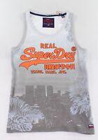 Superdry Mens Shirt Gray Size 2XL Vintage Logo Photograph Print Tank $29 110