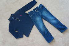 Ralph Lauren Boys Blue Top & Jeans Genuine Authentic Polo 3 Years Bundle Lot 3T