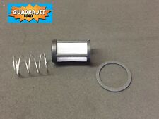Marine Fuel screen filter kit,  early inlet gasket, spring Quadrajet Power