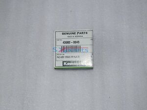 Kawasaki Rear Brake Pad Assy KX65 KLX150 43082-0043