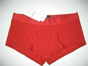 Boxer long cuissard  Rouge NEOFAN plum taille S//M  Ref P07 coupe pocket
