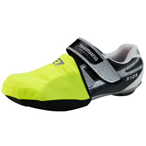 Bellwether Coldfront Road Cycling Toe Covers Hi-Vis Yellow One Size