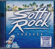 Soft Rock Forever 2-disc CD NEW Bon Jovi Chicago Cat Stevens Dragon