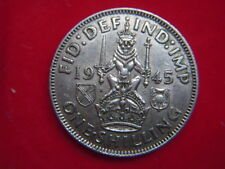 1945 GEORGE V1 SCOTTISH SHILLING  FROM MY COLLECTION [JJ39]