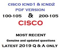 CCNA CCENT ICND Interconnecting Cisco Network 100-101 200-101 Exam Test QA/&SIM