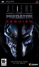 "NEW ORIGINAL SEALED ALIENS VS PREDATOR REQUIEM SONY PSP 2007 GAME PAL-FR  ""RARE"""