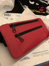 Supreme Leather Waist/Shoulder Bag - RED . BRAND NEW