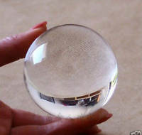 Asian Rare Quartz clear Magic Crystal Healing Ball Sphere Size 40MM + Stand