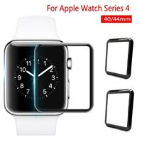 For Apple Watch Series 4 3D Full Edge 9H Tempered Glass Screen Protector 40/44mm