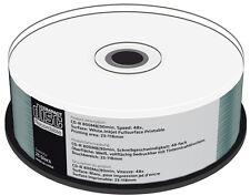 25 Mediarange Rohlinge CD-R full printable 90Min 800MB 52x Spindel