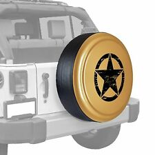 Oscar Mike Star - Painted  Tire Cover fits Jeep Wrangler - Dune