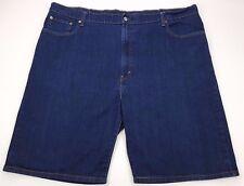 LEVIS 569 Shorts MENS 47 Blue DENIM Cotton BLEND Loose BAGGY Short SIZE Sz MAN**