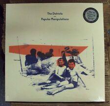 Districts Popular Manipulations Lp Sealed black vinyl indie-rock Fat Possum