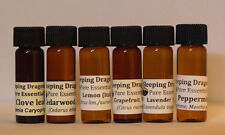 Basic 6 Starter Set 100% Pure Therapeutic Essential Oils, Aromatherapy 6 drams