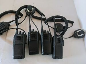 Lot of 4 kenwood nx-1300nk4 radios