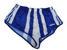 Pantaloncino adidas nylon sprinter Shiny Shorts glanz pants 196 vintage 70'TG D6