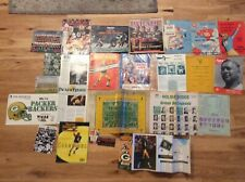 Very Rare Vintage Green Bay Packers Lot Of Programs Matchbook And Other Items