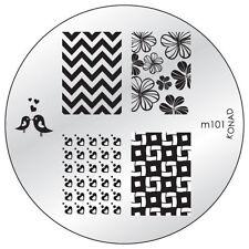 Konad stamping stencil m101 NAILART NUOVO