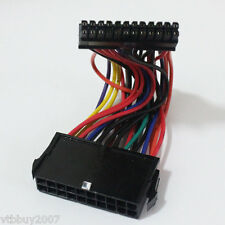 ATX 20Pin Female to mini 24Pin Male conveter PSU PC power cable For HP computer