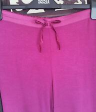 M&S Love Sleep Women's Pajama Bottom Magenta Size 8